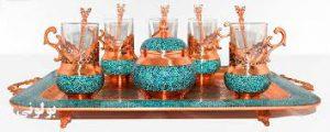ظروف فیروزه در یزد