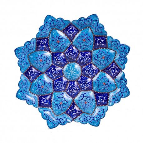 قیمت بشقاب مینا کاری اصفهان