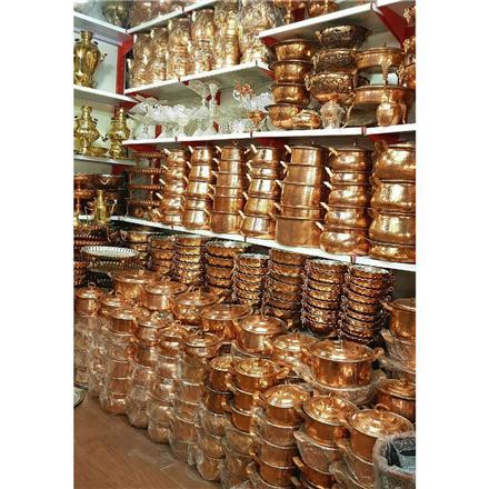 فروش عمده انواع ظروف مسی