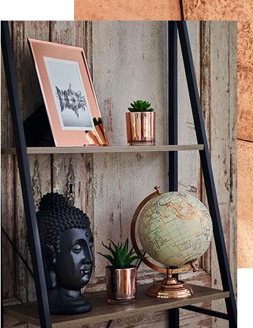 لوازم و ظروف مسی در دکوراسیون داخلی خانه در زیباترین اشکال