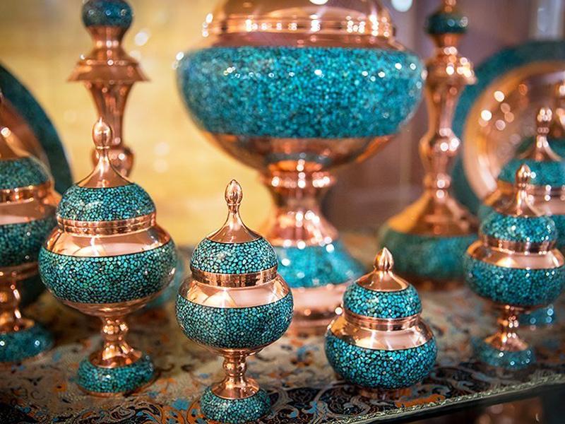 قیمت ظروف مسی اصفهان